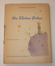 De Kleine Prins by Antoine De Saint-Exupery, AD. Donker, 1951, The Little Prince