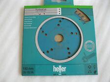 HELLER Disco de corte diamante turbo Cut 180 x 22,23mm Universal