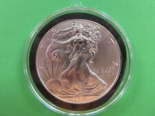2018 Silver American Eagle Dollar 1 troy oz silver in Christmas Ornament Airtite