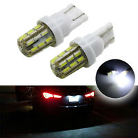 2x T10 White 194 W5W 24SMD 1206 LED Car Wedge Side Lights Clearance Lamp Bulb