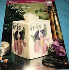 The Needlecraft Shop Plastic Canvas Just For Me Iris Tissue Cover Michele Wilcox