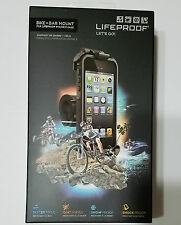 NEW LifeProof iPhone 5 / 5s Bike & Bar Mount - Black - ORIGINAL FACTORY SEALED