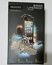 NEW LifeProof iPhone 5 / 5s Bike & Bar Mount - Black - ORIGINAL FACTORY SEALED