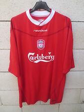 Maillot LIVERPOOL 2004 REEBOK football shirt red vintage jersey trikot XXL