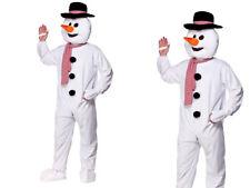 Bonhomme de neige Noël Mascotte adultes NOËL COSTUME DÉGUISEMENT DE LUXE OS