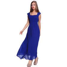 Vestito lungo blu matrimonio