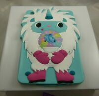 for Ipad mini cover yeti snow monster snow cone unicorn horn teal