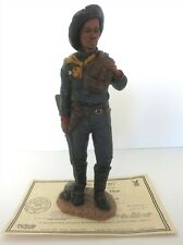 "All God'S Children 1994 10.5"" Augustus Walley Figurine W/ Coa & Box"