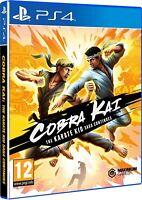 Cobra Kai The Karate Saga Continues Sony Playstation 4 PS4 Game