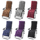 Deck Chair Cushion Lounge Tufted Chaise Padding Outdoor Indoor Recliner 61