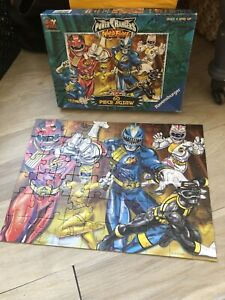 power rangers wild force Fox Kids Vintage Rare Jigsaw Puzzle Ravensburger