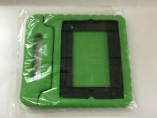 Shockproof Kid Friendly Bumper Case For iPad 2/3/4 - With Handle/Stand - Green