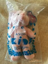 1999 Avon Kids April Birthstone Full O'Beans Pink Twinks The Bunny