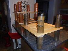 4 Pieds de Lit Bois Création Etagère Décoration Atelier Loft Bar Bistrot Indus