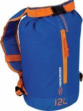 Highlander RockHopper 12 Litre Mini Roll-Top Rucksack  Backpack Blue