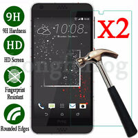 2Pcs 9H Tempered Glass Screen Protector Film For HTC One M10 M9 M8 M7 Desire 530