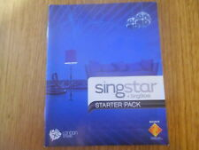 Notice de Singstar + Singstore Starter Pack PS3 Playstation 3 VF TBE (sans jeu)