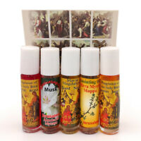 Set 5 Pure Anointing Oil Myrrh Nard Olive Musk Rose Biblical Holy Land Jerusalem