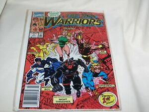 Marvel Comics The New Warriors #1 • 1st Appearance Night Thrasher! 1st Issue