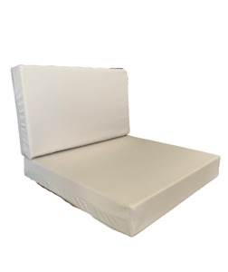 COMPLETE CUSHION REPLACEMENT RATTAN CUSHIONS PAD GARDEN PATIO FURNITURE PATIO