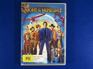 Night At The Museum 2 - DVD - Free Postage !!