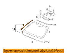 Cadillac GM OEM 00-05 DeVille Windshield-Reveal Molding Left 25744295