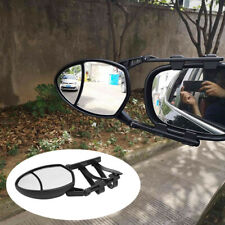 1x Caravan & Trailer Towing Car Safety Clip-On Wing Mirror Extensions Adjustable