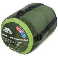 Trespass 40 Winks Adults 1-2 Season Camping Lightweight Sleeping Bag