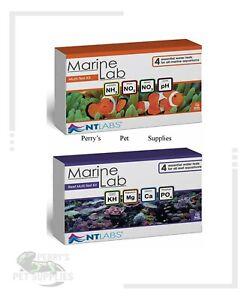 NT Labs Marine Lab Multi-Test Kit / Reef Multi-Test Kit Marine Aquarium Tests