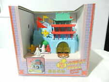 GREAT WALL WIND UP SAVING BANK TOY 1998 W/BOX WORKS