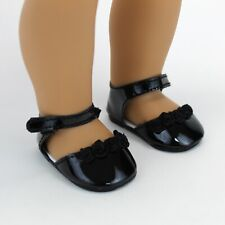 18 Inch Doll Dress Shoes - Ankle Strap Shoes for American Girl Dolls