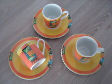 NEU Seltmann Weiden Bavaria VIP collection Espresso Tassen & Untertassen 3er Set