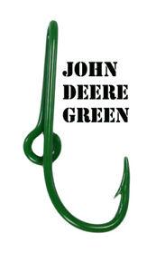 John Deere Green Eagle Claw Fish Hook Hat Pin John Deere Green Fish Hook Clip