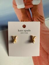 BN Kate Spade New York Cute Bunny Ear Stud Earrings - Mini