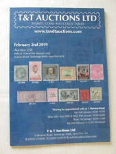 T & T Stamp Auction Catalogue - February 2019