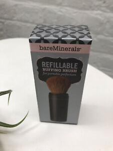 BAREMINERALS Refillable Buffing Brush ~ RARE DISCONTINUED ITEM ~ NEW IN BOX