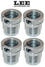 Lee FOUR PACK Breech Lock Quick Bushings w/ Die Lock Ring Eliminator # 90063 New