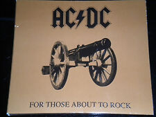 AC/DC For Those Sobre To Rock CD álbum Digipak 2003 10 Genial Canciones