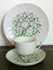 Rosenthal Lotus Jade grün -  Design Wiinblad / Wirkkala - Kaffeegedeck 3teilig