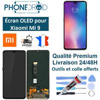 Écran complet OLED + Tactile Xiaomi Mi 9, neuf, stock en France