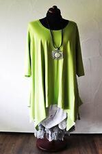 Designer Lagenlook a-Line Kiwi-Green Gr.5 58,60, XXXXL, XXXXXL