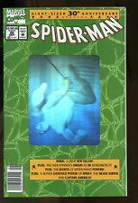 SPIDER-MAN #26 NEAR MINT 9.4 HOLOGRAM COVER NEWSSTAND EDITION 1992 MARVEL COMICS