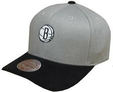 Mitchell & Ness NBA Brooklyn Nets HYPER TECH WOOL Crown Intl 064 SNAPBACK CAP NEW