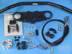 Abm Superbike Handlebar Kit Honda CBR 600 RR (PC37B) 05-06 Black