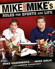 New ESPN (MIKE AND MIKES RULES FOR SPORTS AND LIFE) HARDCOVER BOOK
