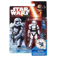"Star Wars Black Series Force Awakens W2 3.75"" First Order Stormtrooper Leader"