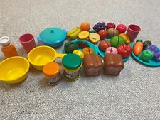Vintage Little Tikes Play Food Bread Pan And Other Velcro Foods Not All Little T