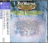 Rick Wakeman Journey To The Centre Of The Earth JAPAN CD with OBI D20Y4010 YES