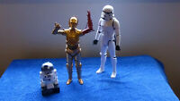 2015 & 2016 Star Wars characters red arm 3cpo