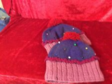 Cupcake Adult Knitted Bobble Hats Funky Cute